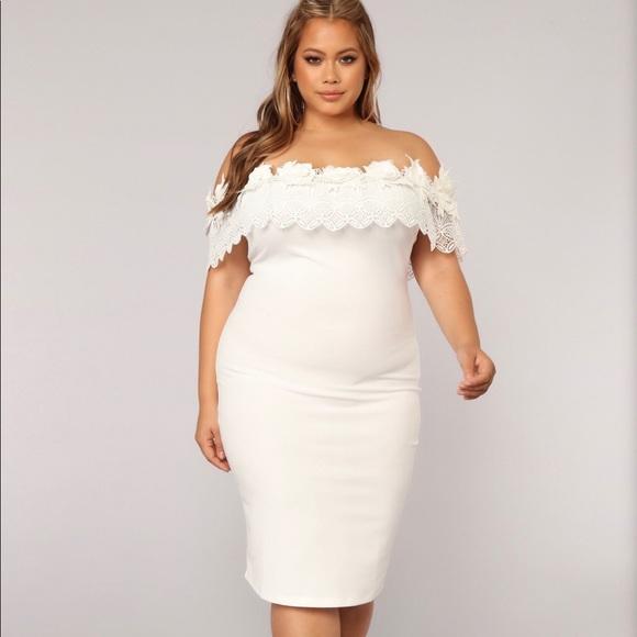 Fashion Nova Dresses & Skirts - Fashion Nova Off Shoulder Dress